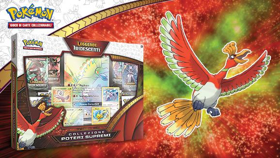 Collezione Poteri Supremi dell'espansione <em>Leggende Iridescenti</em> del GCC Pokémon