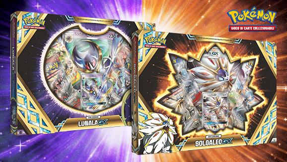 Collezione Solgaleo-<em>GX</em> e collezione Lunala-<em>GX</em>