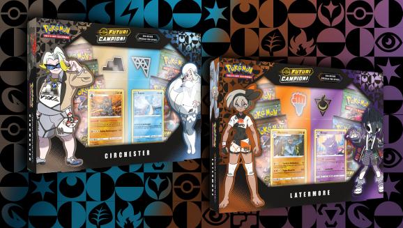 Collezione speciale con spilla dell'espansione <em>Futuri Campioni</em>