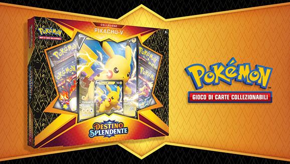 Collezione Pikachu-V dell'espansione <em>Destino Splendente</em>