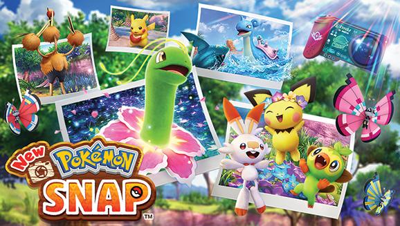 Guarda l'ultimo trailer di New Pokémon Snap
