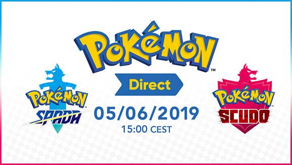 In arrivo il 5 giugno nuovi particolari su Pokémon Spada e Pokémon Scudo!