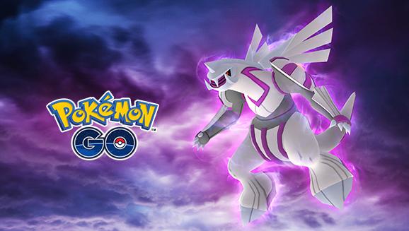 In arrivo raid cosmici su <em>Pokémon GO</em> in compagnia di Palkia!
