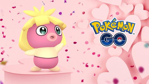 Con il San Valentino di <em>Pokémon GO</em> sarà amore a prima vista