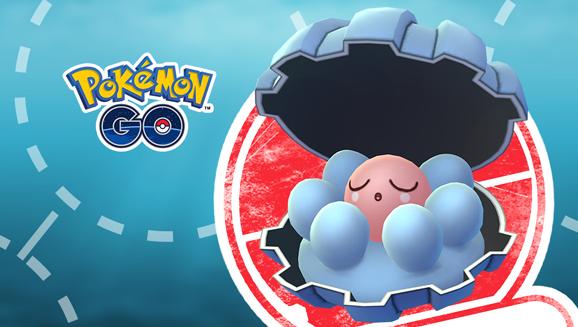 Clamperl arriva finalmente su <em>Pokémon GO</em>!