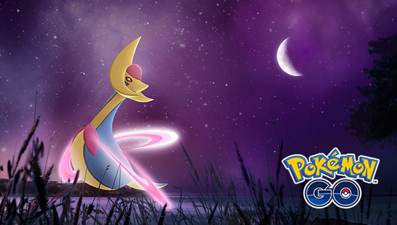 La luce di Cresselia brilla nei raid di <em>Pokémon GO</em>