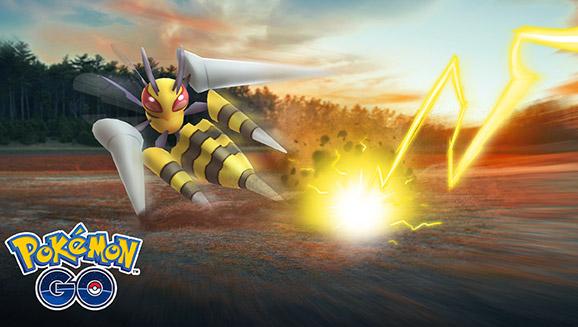 Usa il pungiglione con MegaBeedrill in Pokémon GO