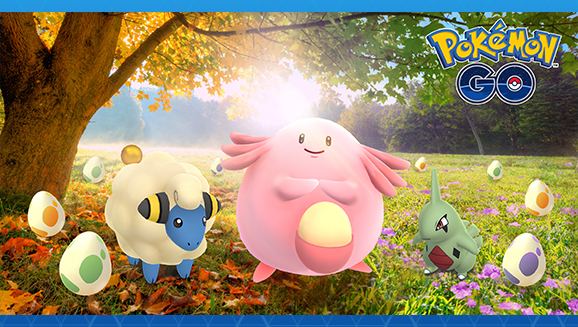 Di nuovo Uova a gogo in <em>Pokémon GO</em>!