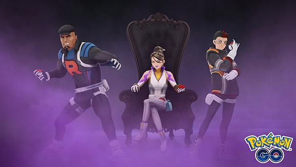I leader del Team GO Rocket invadono Pokémon GO