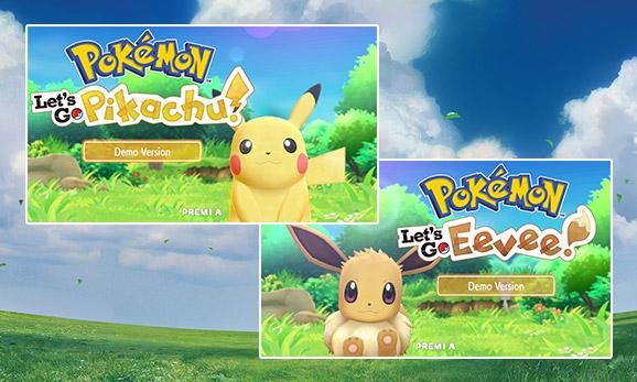 Gioca alla versione demo di <em>Pokémon: Let's Go, Pikachu!</em> e <em>Pokémon: Let's Go, Eevee!</em>
