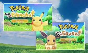 Gioca alla versione demo di Pokémon: Let's Go, Pikachu! e Pokémon: Let's Go, Eevee!