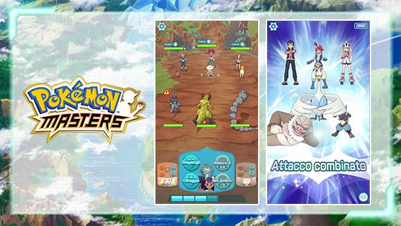 Il nuovo trailer di Pokémon Masters e nuovi dettagli di gioco
