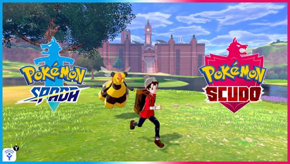 Immergiti nella natura in Pokémon Spada e Pokémon Scudo!