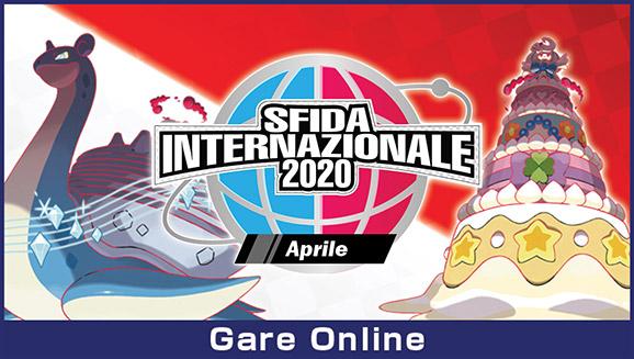 Lotta nella Sfida internazionale di aprile 2020!
