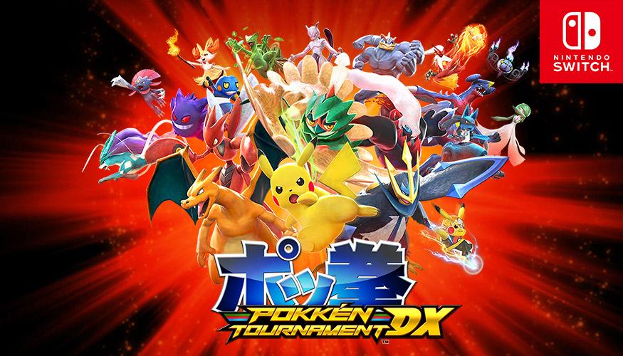 Si dia inizio alle grandi lotte di Pokkén Tournament DX!