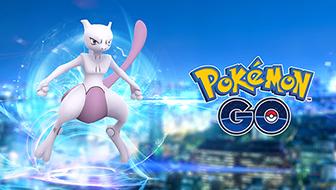 È apparso il Pokémon leggendario Mewtwo!