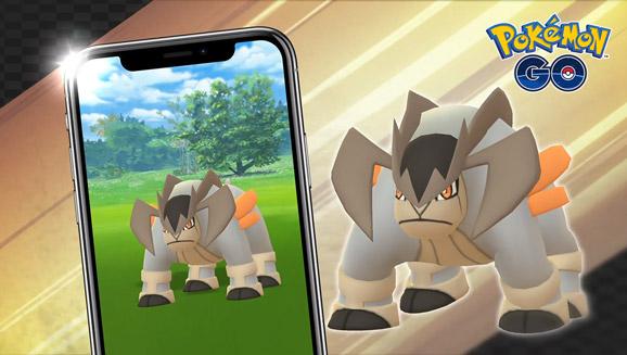 Terrakion in vista nei raid di Pokémon GO