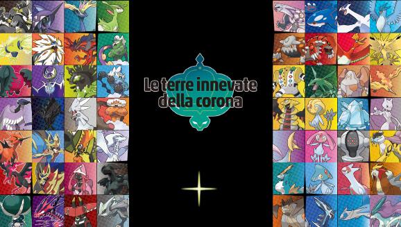 I Pokémon leggendari risplendono nell'oscurità della dynatana max