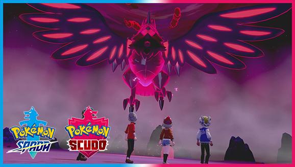 Trova Pokémon cromatici e Gigamax nelle Terre Selvagge!