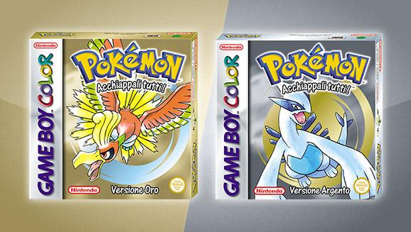 Pokémon Versione Oro e Pokémon Versione Argento