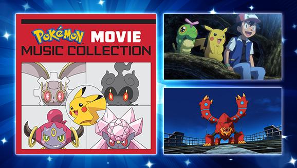 Non perderti le colonne sonore dei film Pokémon