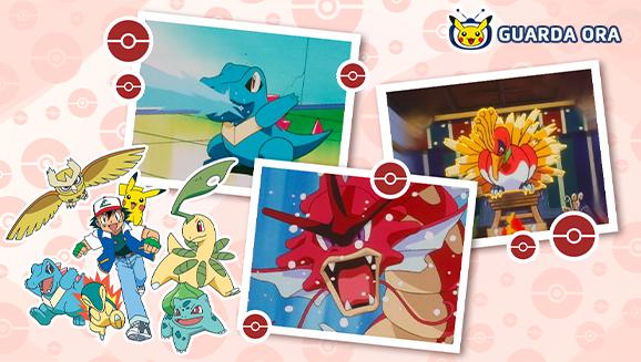 Mettiti in viaggio verso Johto su TV Pokémon