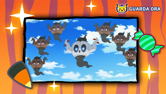 Fantasmi divertenti e spaventosi infestano TV Pokémon