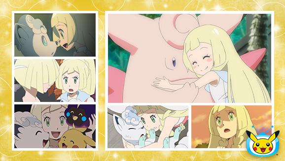 Lylia protagonista su TV Pokémon