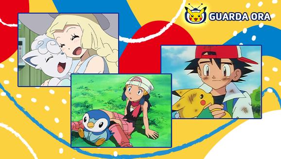 Rivivi i primi incontri più belli su TV Pokémon