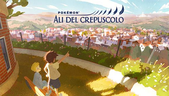 Guarda il primo episodio della serie animata Pokémon Ali del crepuscolo!