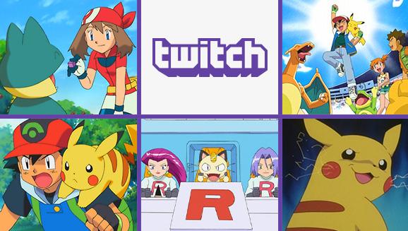 Guarda la serie animata Pokémon su Twitch