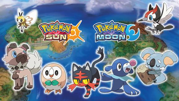 Pokémon fra Alola blir med i Pokédex