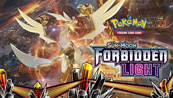 Pokémon TCG: <em>Sun & Moon—Forbidden Light</em>