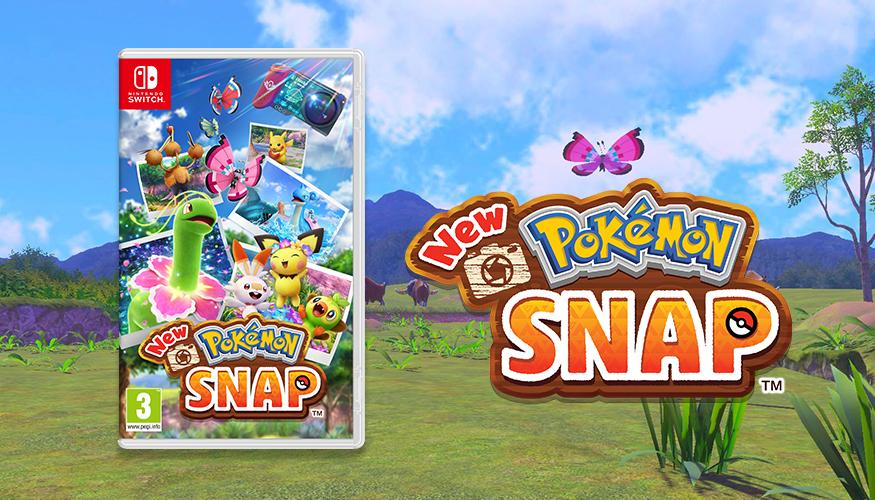 New Pokémon Snap har kommet til Nintendo Switch