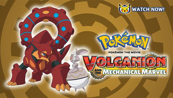 Pokémon Filmen: Volcanion og det mekaniske vidunderet