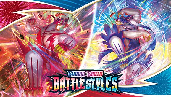 Kies nu je gevechtsstijl in de nieuwe Pokémon TCG-uitbreiding