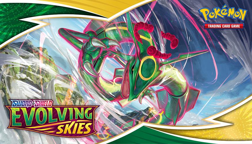 De nieuwe uitbreiding Sword & Shield—Evolving Skies is uitgebracht