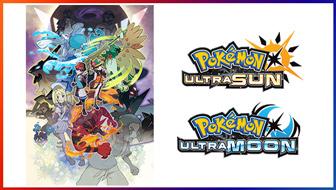 Surf mee in Pokémon Ultra Sun en Pokémon Ultra Moon