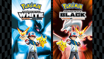 Pokémon de Film: White -Victini en Zekrom<br>Black - Victini en Reshiram