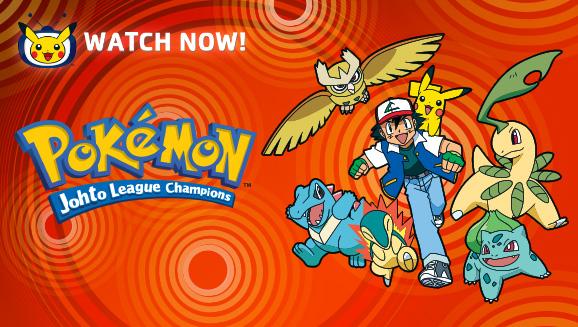 Avonturen in Johto gaan door op Pokémon TV