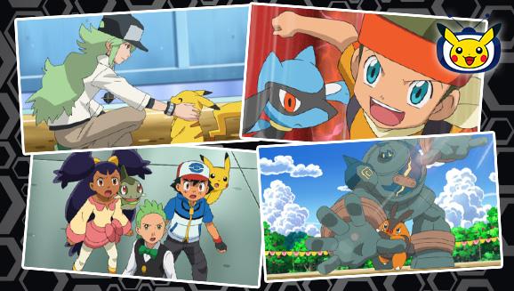 Strijd tegen de Unova League op Pokémon TV