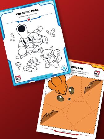 Atividades Pokémon divertidas para crianças