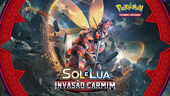 Pokémon Estampas Ilustradas: <em>Sol e Lua - Invasão Carmim</em>