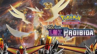 Sol e Lua — Luz Proibida do Pokémon Estampas Ilustradas