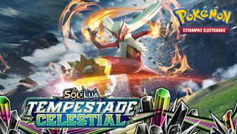Sol e Lua — Tempestade Celestial do Pokémon Estampas Ilustradas
