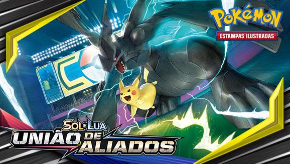 Sol e Lua — União de Aliados do Pokémon Estampas Ilustradas chegou!