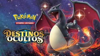 Uma imensidão de Pokémon Brilhantes em Destinos Ocultos