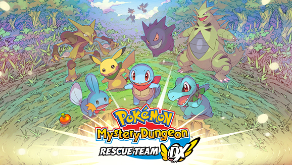 Pokémon Mystery Dungeon: Rescue Team DX já está disponível