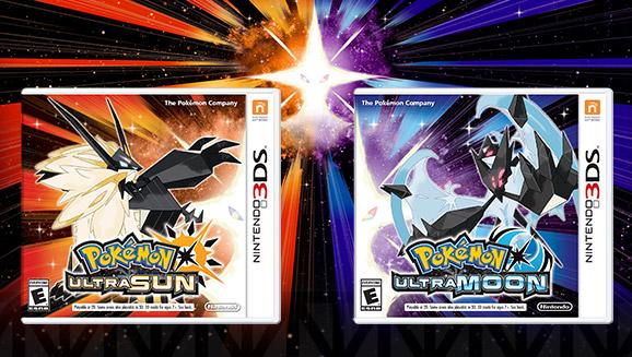 <em>Pokémon Ultra Sun</em>   <em>Pokémon Ultra Moon</em>