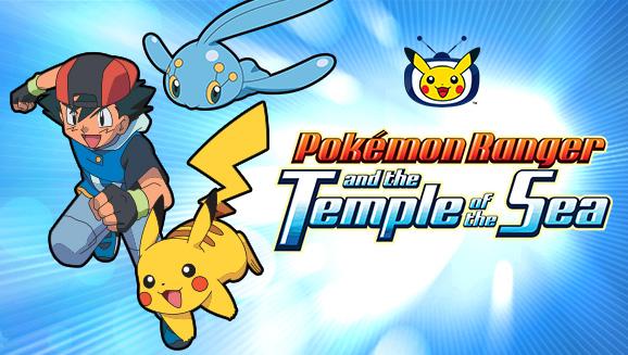 Pokémon Ranger e o Lendário Templo do Mar está chegando à TV Pokémon!